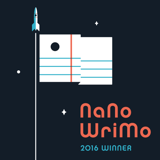 NaNoWriMo winner 2016